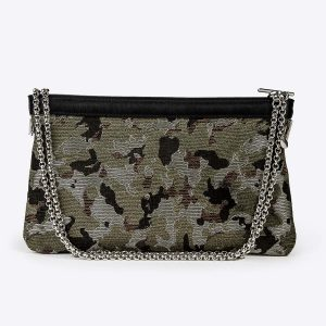 pochette camouflage Lolo Chatennay
